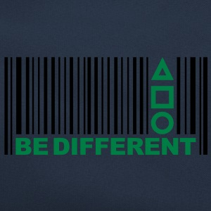 Be Different - Barcode - Simboli - Codice a barre Felpe - Borsa retrò