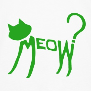 Meow? (Green) Accessories - Men's Premium Longsleeve Shirt