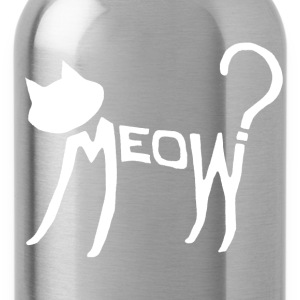 Meow? (White) Bags  - Water Bottle