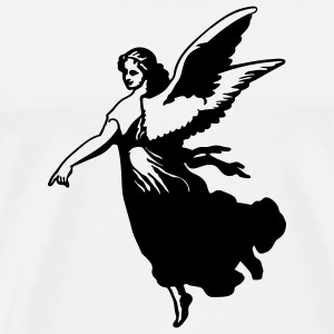 Angel - Premium-T-shirt herr
