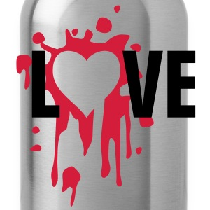 love_splatter_2c Tee shirts - Gourde