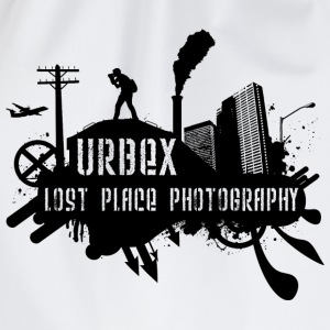 Lost Place Photography Black T-Shirts - Turnbeutel