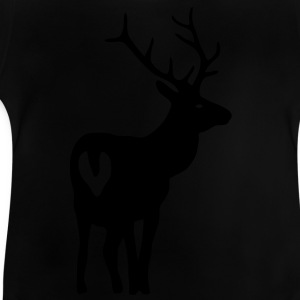 stag deer moose elk antler antlers horn horns cervine bachelor party night hunter hunting  Kids' Shirts - Baby T-Shirt