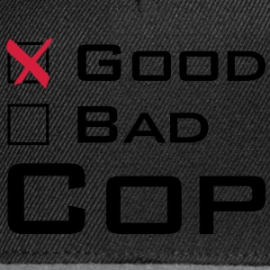 Good Cop T-Shirts - Snapback Cap
