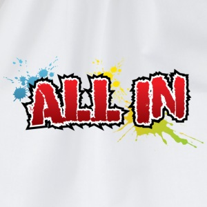 All In Graffiti Mug - Mochila saco
