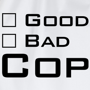 Good Cop -- Bad Cop T-Shirts - Turnbeutel