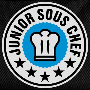 Junior Sous Chef | Küchenchef | Chef Cook T-Shirts - Ryggsäck för barn