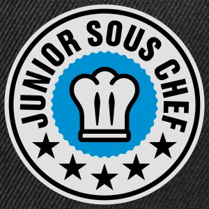Junior Sous Chef | Küchenchef | Chef Cook T-Shirts - Czapka typu snapback
