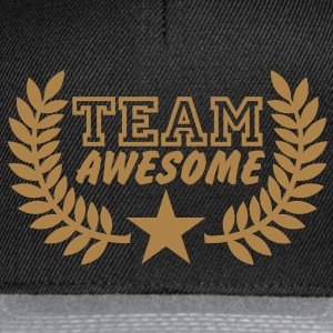 Team awesome | Team supergeil T-Shirts - Snapback Cap
