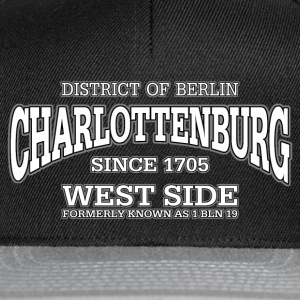 Charlottenburg Berlin West Side (white) - Snapback Cap