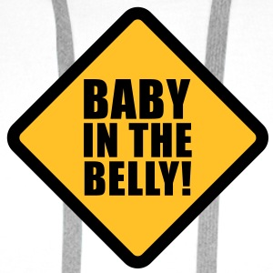 Baby in the belly T-Shirts - Men's Premium Hoodie