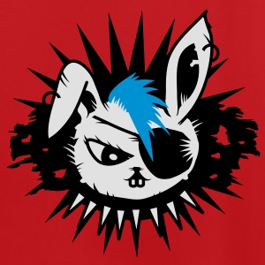 rabbit with an eye patch and a mohawk Bags  - Men's Football Jersey