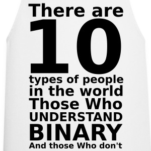 There are 10 types of people T-Shirts - Cooking Apron