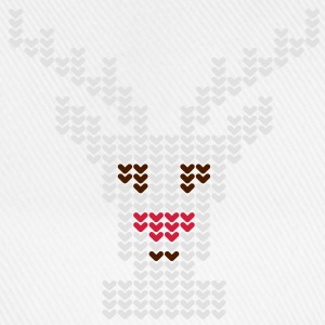 Rudolph | Rudolf | rote Nase | red nose | Rentier | Rendeer T-Shirts - Casquette classique