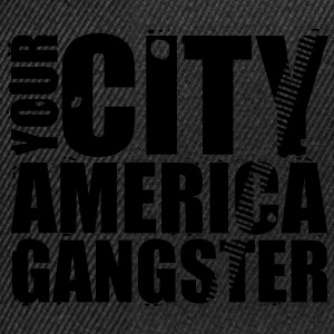 your city america gangster Sweaters - Snapback cap