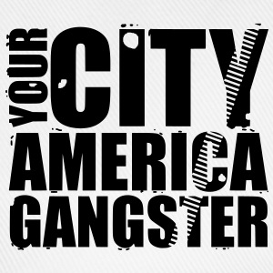 your city america gangster Tröjor - Basebollkeps
