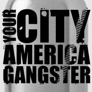 your city america gangster Borse - Borraccia