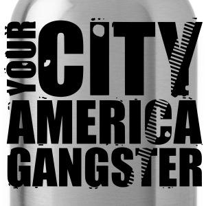 your city america gangster Bags  - Water Bottle