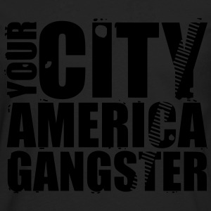 your city america gangster bolsas - Camiseta de manga larga premium hombre