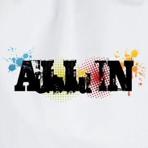 All In Graffiti - Gymnastikpåse
