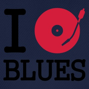 I dj / play / listen to blues :-: - Baseballcap
