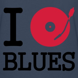 I dj / play / listen to blues :-: - Herre premium T-shirt med lange ærmer