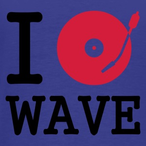 I dj / play / listen to wave :-: - Premium T-skjorte for menn