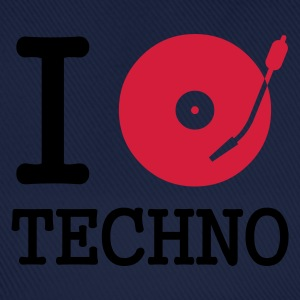 I dj / play / listen to techno :-: - Baseballcap