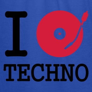 I dj / play / listen to techno :-: - Tanktopp dam från Bella