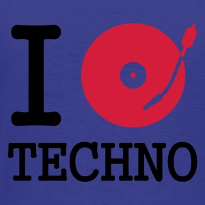 I dj / play / listen to techno :-: - Premium T-skjorte for menn
