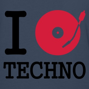 I dj / play / listen to techno :-: - Premium langermet T-skjorte for menn