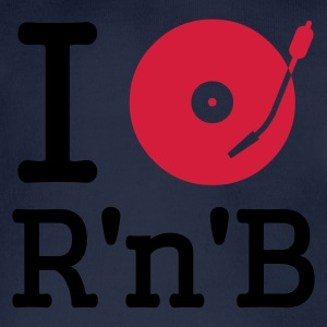 I dj / play / listen to rhythm & blues :-: - Økologisk kortermet baby-body