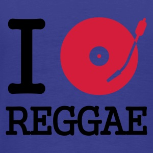 I dj / play / listen to reggae :-: - Men's Premium T-Shirt
