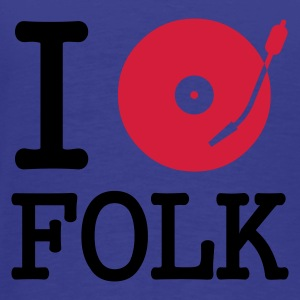 I dj / play / listen to folk :-: - Männer Premium T-Shirt