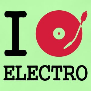 I dj / play / listen to electro :-: - Baby T-Shirt