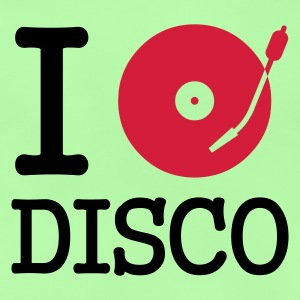 I dj / play / listen to disco :-: - Baby-T-skjorte