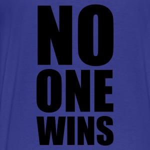 no one wins :-: - Premium T-skjorte for menn