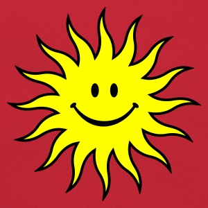 Smiley Sun :-: - Retro Bag
