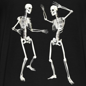 skeleton dance (DD) :-: - Mannen Premium T-shirt