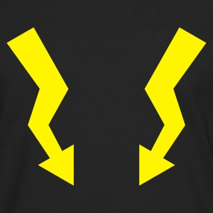 Flashes - Lightning :-: - Men's Premium Longsleeve Shirt