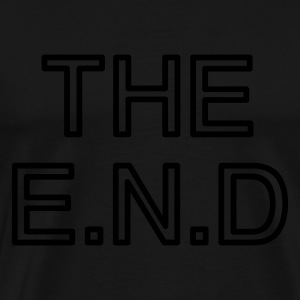 the end :-: - Mannen Premium T-shirt