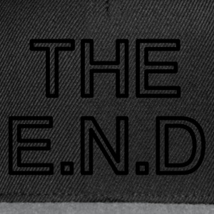 the end :-: - Snapback Cap