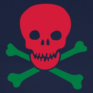 skull and crossbones :-: - Baseballkasket