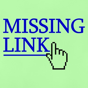 Missing Link :-: - Baby-T-shirt