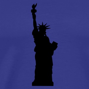 statue of liberty :-: - Men's Premium T-Shirt