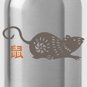 year of the rat (chinese zodiac) :-: - Water Bottle