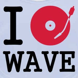 I dj / play / listen to wave :-: - Baby Organic Bib