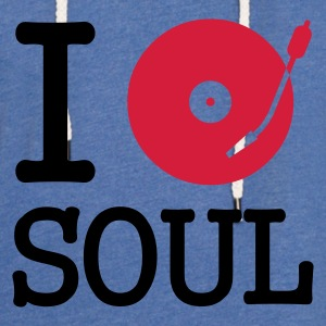 I dj / play / listen to soul :-: - Light Unisex Sweatshirt Hoodie
