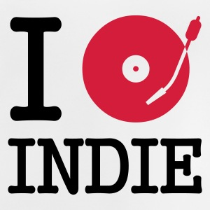I dj / play / listen to indie :-: - Baby-T-shirt
