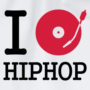 I dj / play / listen to hiphop :-: - Mochila saco